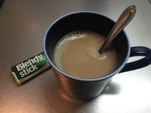 スティックコーヒー 牛乳