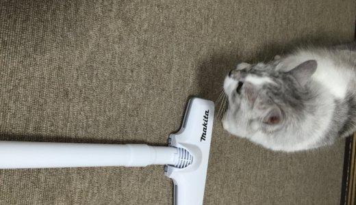 マキタ掃除機CL107FD 使い勝手が良い!猫のいる家で使っています