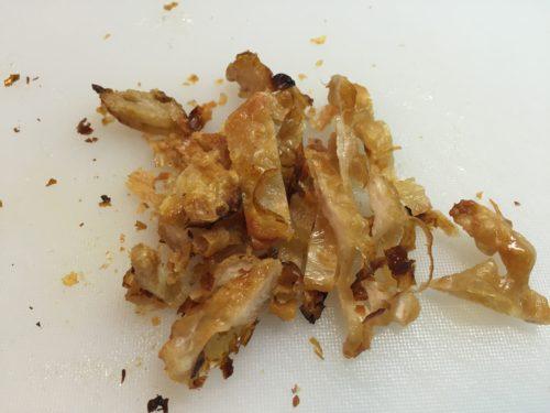 鳥皮 レシピ 捨てずに カリカリ トースター
