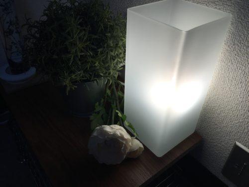 IKEA テーブルランプGRONO 間接照明