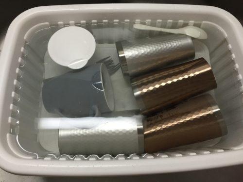 オキシクリーン 酸素系漂白剤 ステンレス タンブラー 水筒 塩素系漂白剤