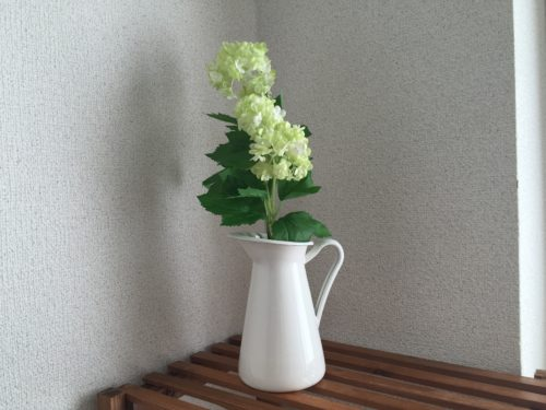 IKEA フェイクグリーン 造花 インテリア アレンジ 花瓶