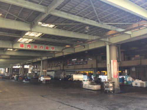小田原漁港 魚市場食堂 駐車場