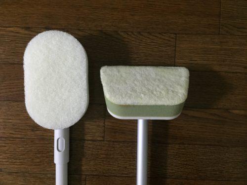 浴室 フック 掃除道具 無印 スポンジ ニトリ ホワイト化 比較 どっちが良いか 浴室 フック 掃除道具 無印 スポンジ ニトリ ホワイト化 比較 どっちが良いか ある身柄付バススポンジ 掃除用品システム バス用スポンジ