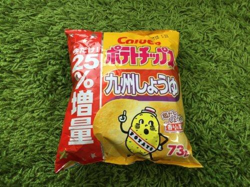 ポテトチップス 九州しょうゆ