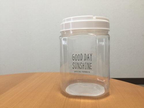 ダイソー GOOD DAY SUNSHINE 洗濯洗剤 容器 詰め替え 粉洗剤 ホワイト化