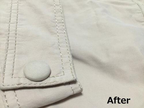 白いコート 袖 黒ずみ 汚れ 落とし方 自分 簡単 おしゃれ着用洗剤