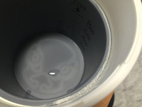 電気ケトル 水垢 洗浄 掃除 クエン酸 簡単