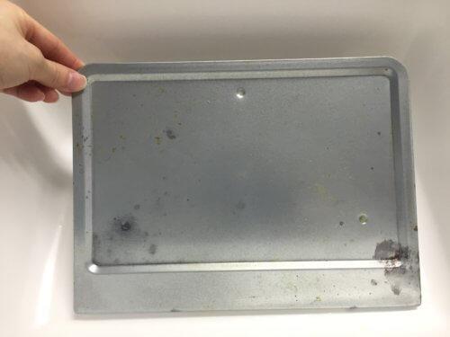 トースター 受け皿 掃除 油 焦げ トレー