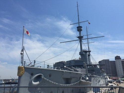 横須賀 戦艦三笠 三笠公園 記念艦 ドライブ