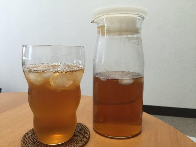 無印良品 耐熱ガラスピッチャー 小 麦茶ポット