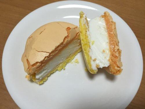コンビニ セブンイレブン トロピカルチーズ マカロン 赤城乳業