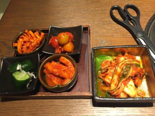 焼肉トラジ トレッサ横浜 口コミ キムチ