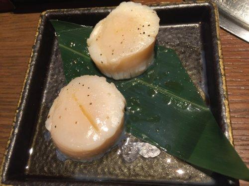 焼肉トラジ トレッサ横浜 口コミ ホタテ