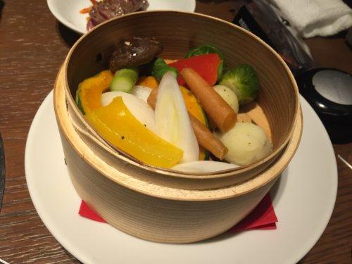 焼肉トラジ トレッサ横浜 口コミ 温野菜焼き