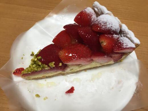 キルフェボン ケーキ 横浜 イチゴのタルト