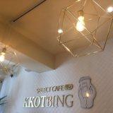 SELECT CAFE KKOTBING(セレクトカフェ コッビン) かき氷 ピンス 韓国