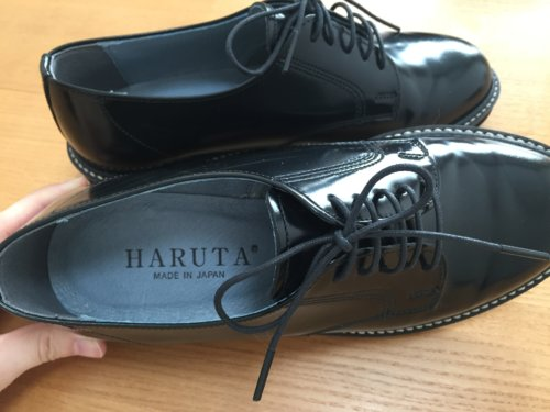 HARUTA ハルタ レディース レースアップシューズ 本革 大人 SF370