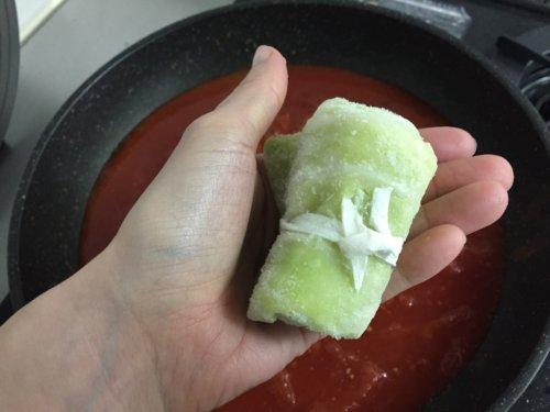 業務スーパー 冷凍食品 豚肉ロールキャベツ 感想 レシピ