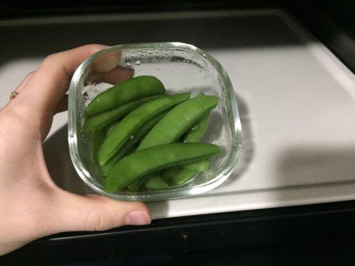 業務スーパー スナップエンドウ 冷凍 野菜 400g アレンジ 感想 口コミ 解凍方法