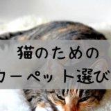 猫 カーペット ペット タイルカーペット おすすめ 洗える 掃除 爪とぎ 安い 嘔吐 対策