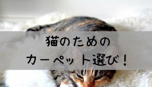 【レビュー】猫飼うならタイルカーペットがおすすめ!安くて長期使える!