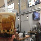 みなとみらい 横浜 タピオカ ロアーブラザーズ コーヒータピオカ黒糖ミルクティ 誕生日 割引 ワールドポーターズ