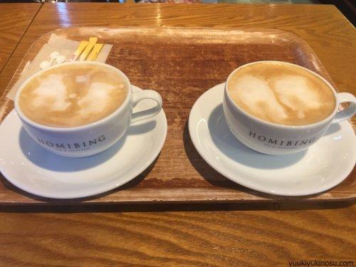 HOMIBING ホミビン 台湾かき氷 韓国 人気 新大久保 メニュー シェア きな粉餅ホミビン 値段 ワンオーダー制 ドリンク ホット カフェオレ