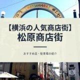 横浜 松原商店街 激安 人気 ハマのアメ横 おすすめ 駐車場 営業時間 レビュー