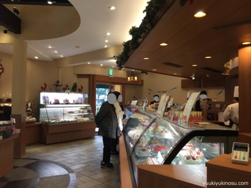 パティスリー・ラ・ベルデュール 緑園都市 横浜市 泉区 洋菓子専門店 店内 ケーキ
