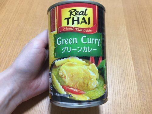 業務スーパー Red THAI  グリーンカレー 缶詰 カロリー 辛い レトルト 安い 作り方 レシピ 感想 味 本場