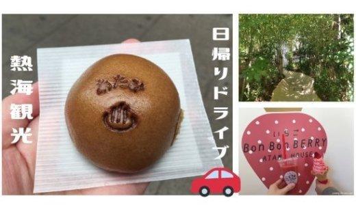 【熱海】日帰りドライブで来宮神社&話題スポットへ!