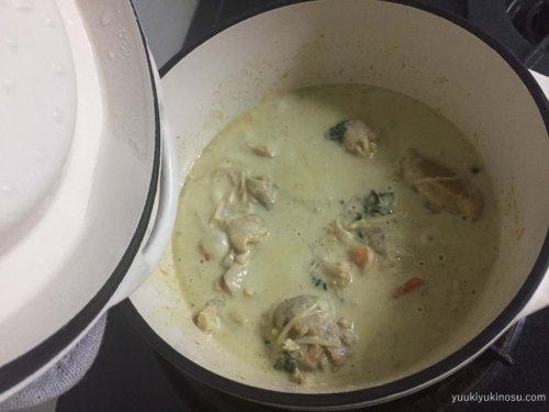バーミキュラ レシピ 18cm グリーンカレー 無水鍋