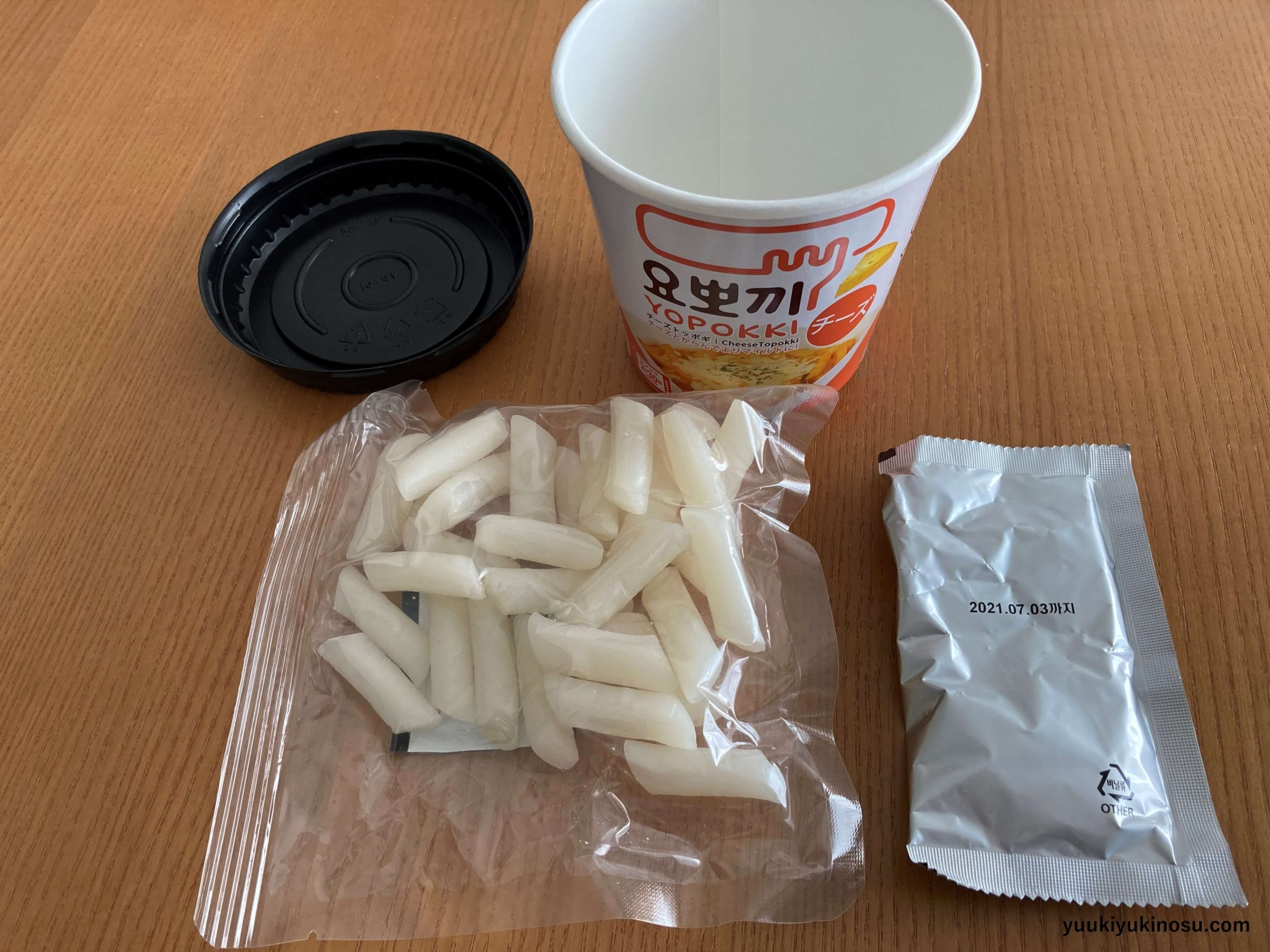 チーズトッポッキ YOPOKKI ヨッポッキ インスタント 値段 韓国グルメ アレンジ 作り方 おすすめ 美味しい ヘテパシフィック株式会社 ヨンプン