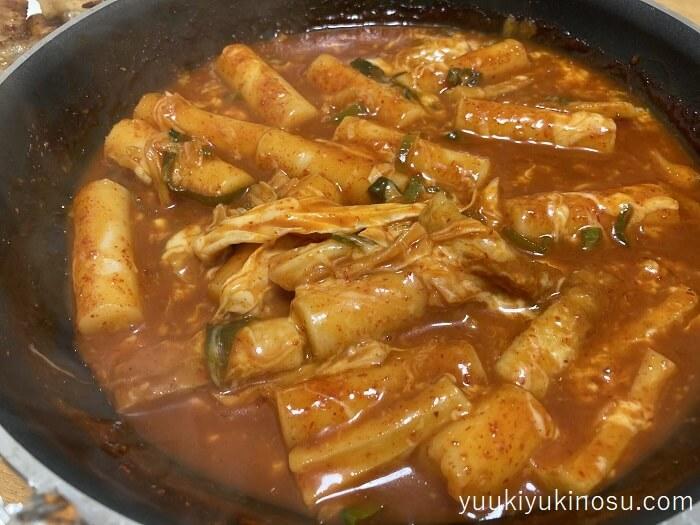 業務スーパー トッポッキ トッポギ 韓国料理 作り方 アレンジ 辛い カロリー