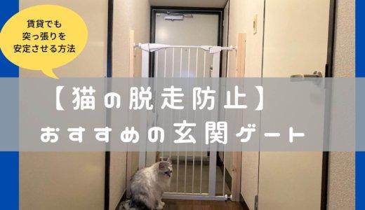 【猫】玄関ペットゲートを1万で購入!高さ120cmの体験レビュー