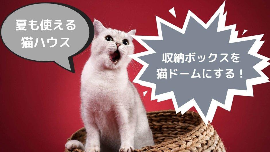 猫 ハウス ドーム おすすめ 夏用 収納ボックス ペットハウス ニトリ