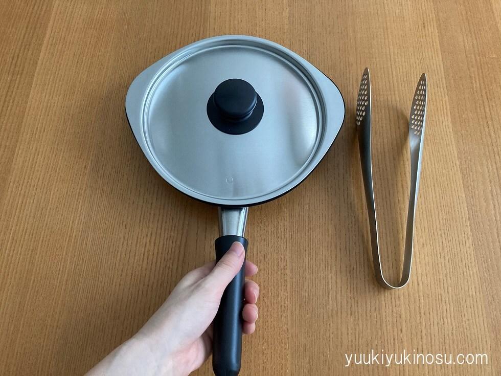 鉄フライパン 柳宗理 マグマプレート 18cmサイズ 蓋付 メリット 日本製 手入れ 口コミ